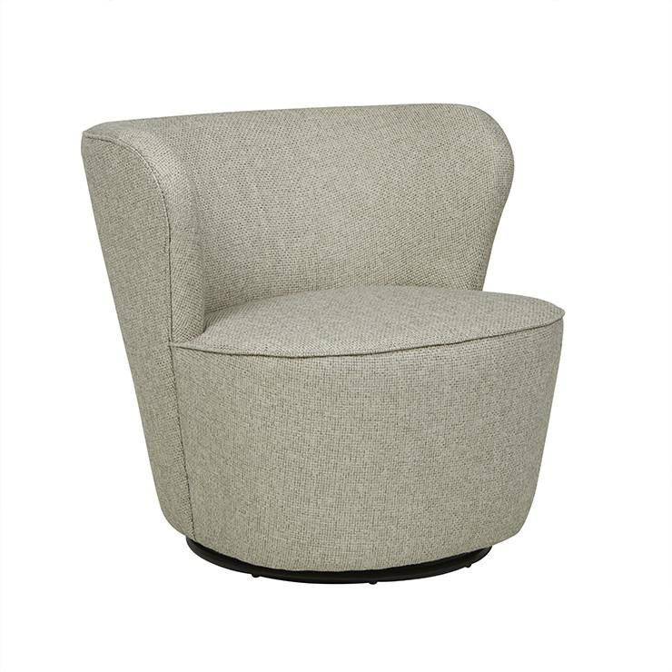Stupendous Kennedy Swivel Occasional Chair Alexa Nice Living Spaces Theyellowbook Wood Chair Design Ideas Theyellowbookinfo
