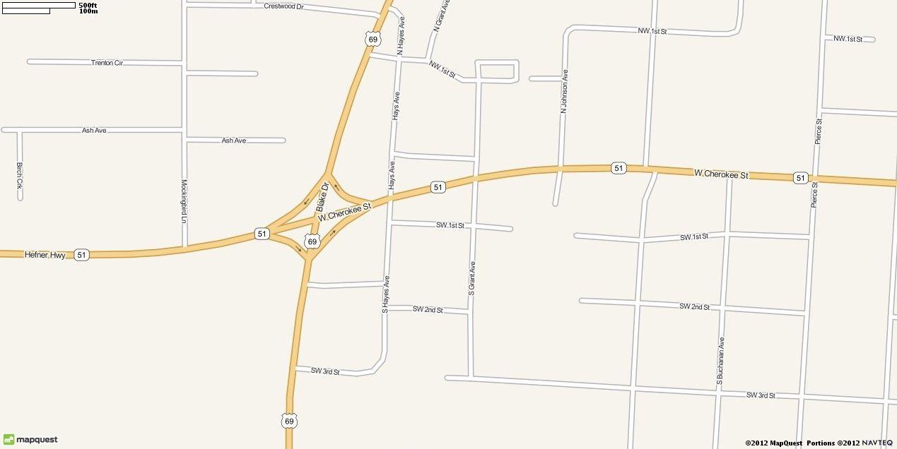 Wagoner, OK Map | MapQuest