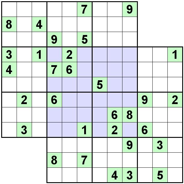 Number Logic Puzzles: 21903 - Sudoku size 9