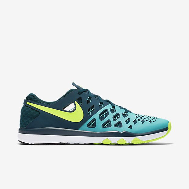 Nike Train Speed 4 Mens Training Shoes 11.5 Hyper Jade Turquoise Volt  843937 373