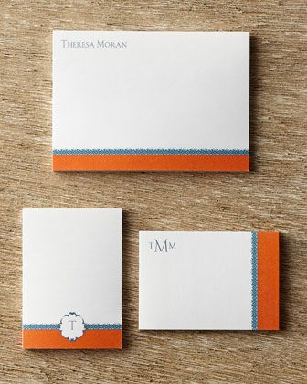 Personalized Post-It Notepad Set by Navitor at Horchow.