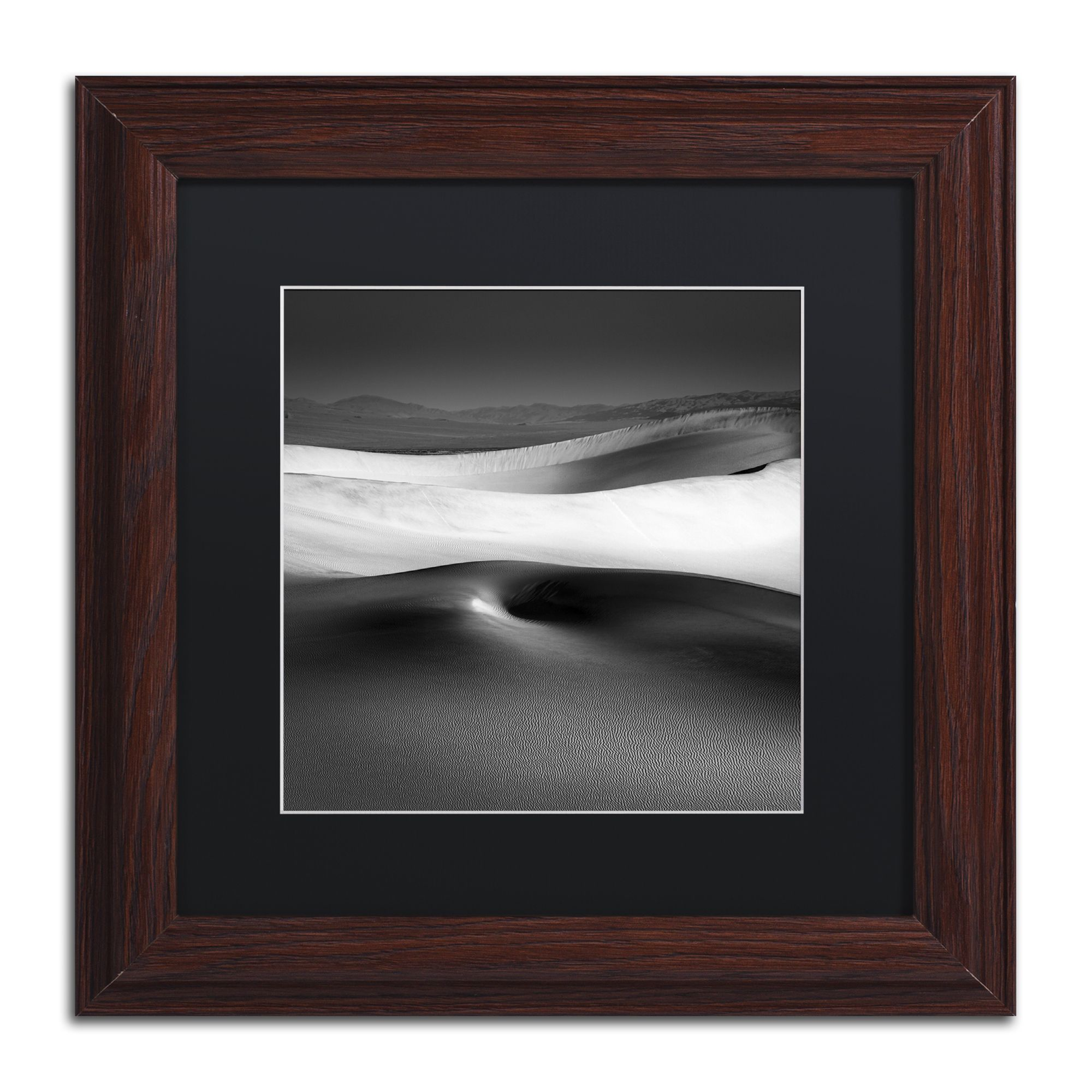 dave macvicar navel matte wood framed wall art - Wood Frames For Canvas Paintings