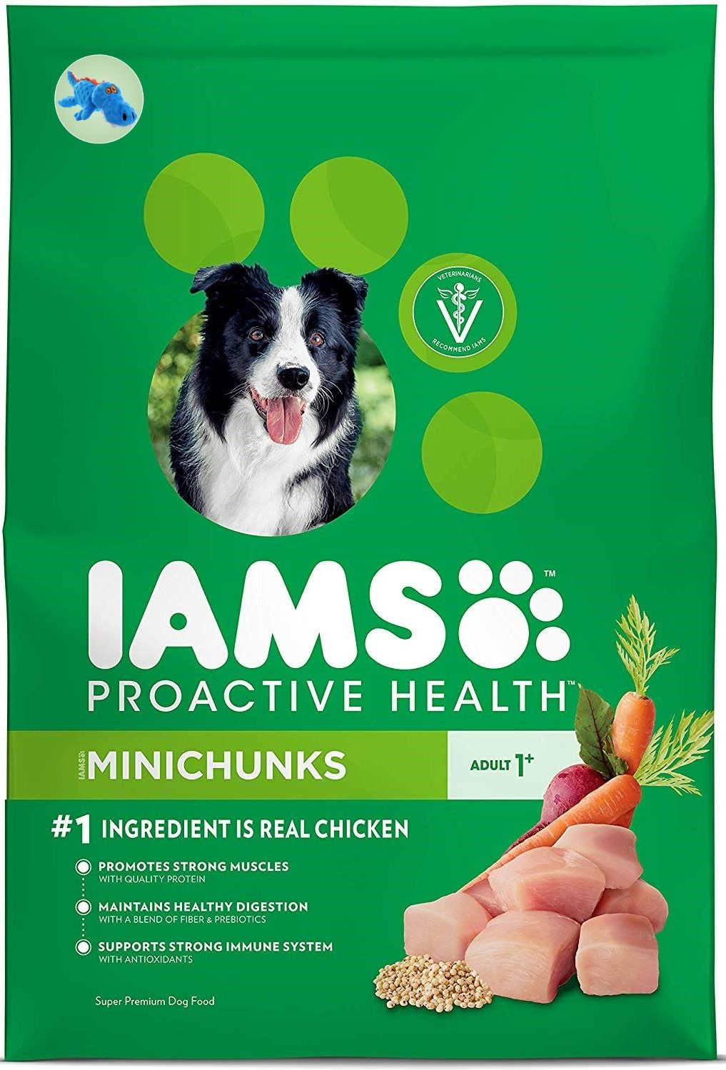 Proactive Health Adult Minichunks Dry Dog Food Chicken Iams