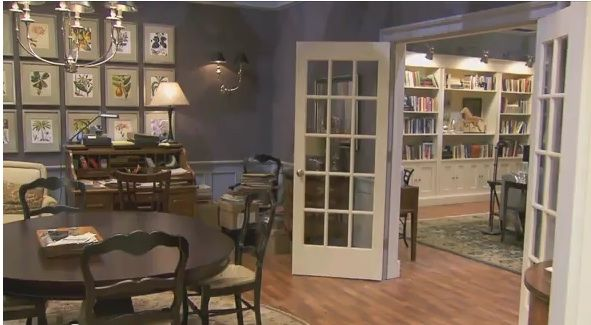 The Good Wife SetFrench Doors Grouping Of Framed Art