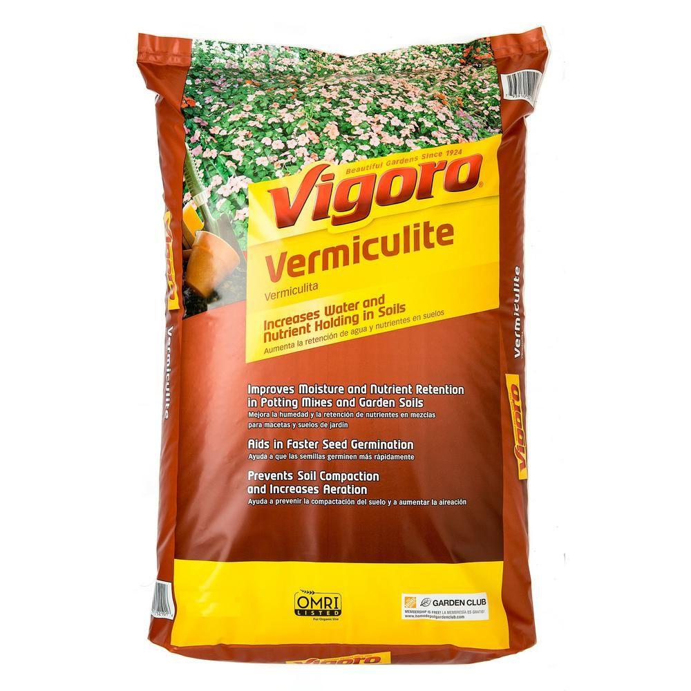 Vigoro 8 Qt. Organic Vermiculite Soil Amendment100536863