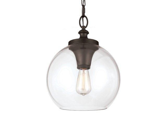 Tabby 1-Light Pendant, Oil Rubbed Bronze