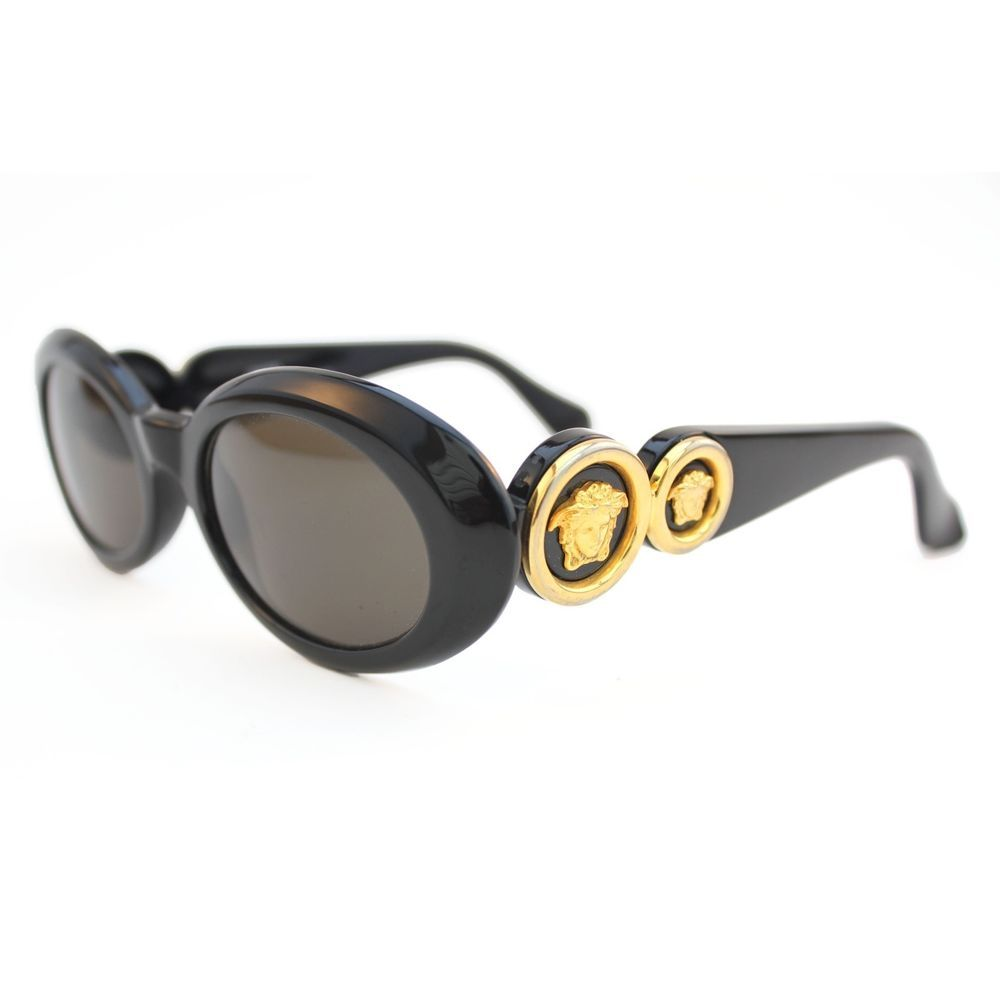 a5dfced4e2b86 Amazing Vintage Gianni Versace Sunglasses for Sale US  350.95. Wasn t Biggie  Smalls known for wearing these  I think so. The gold medusa on the side is  so ...
