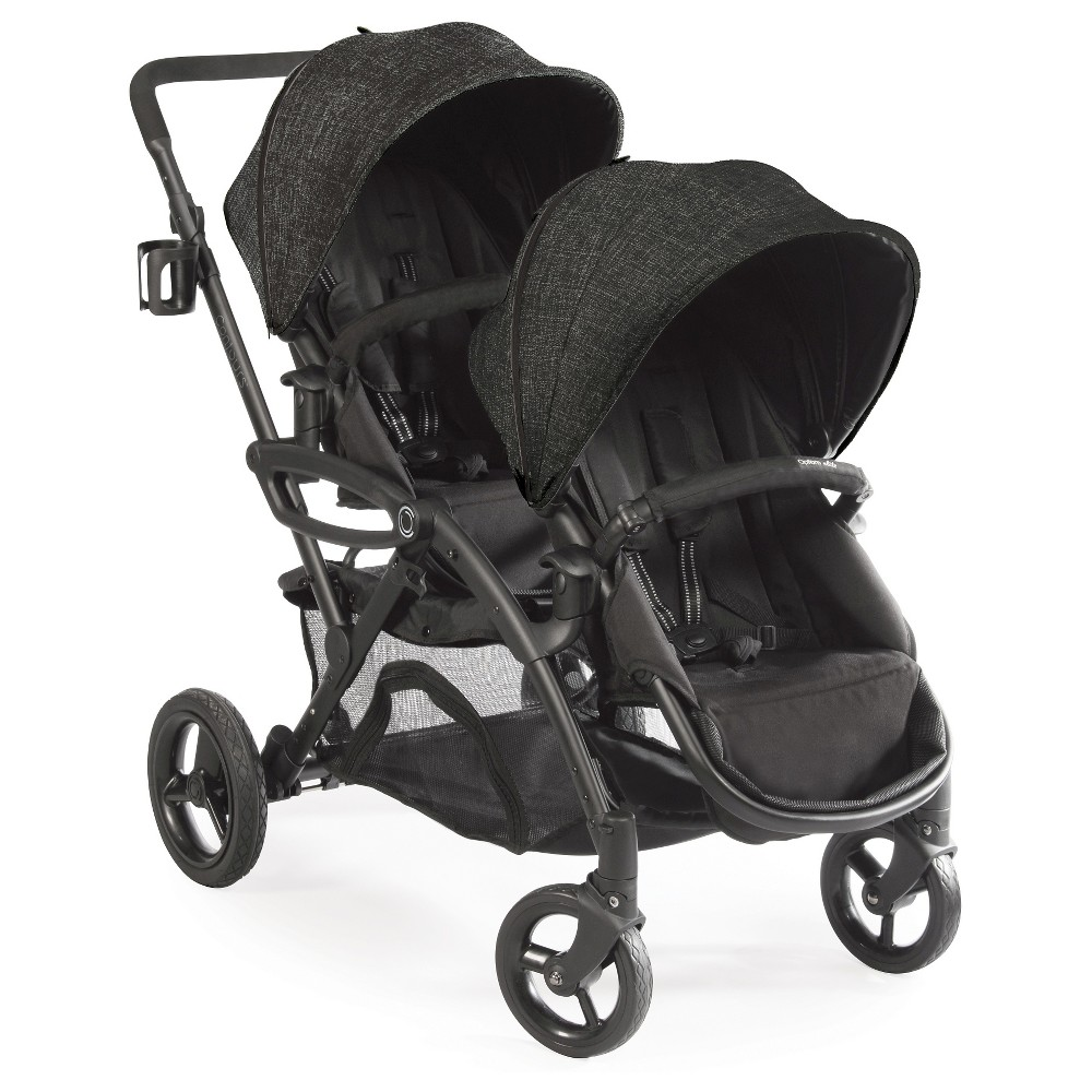 Contours Options Elite Tandem Double Stroller Carbon (Black)