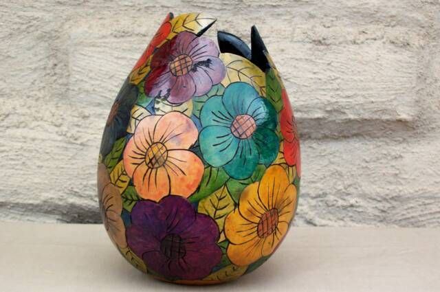 Big Flower Vase Vase Modern Vase Handicraft Design Handcraft
