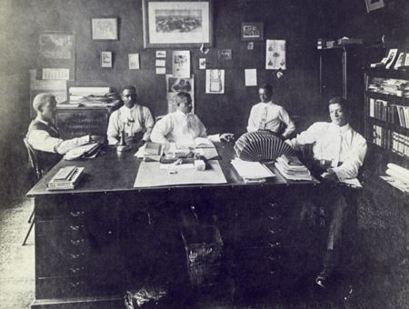 Portrait Of North Carolina Mutual Life Insurance Company Officers