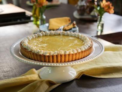 Classic Lemon Tart with Coconut-Almond Crust #valeriebertinellirecipes
