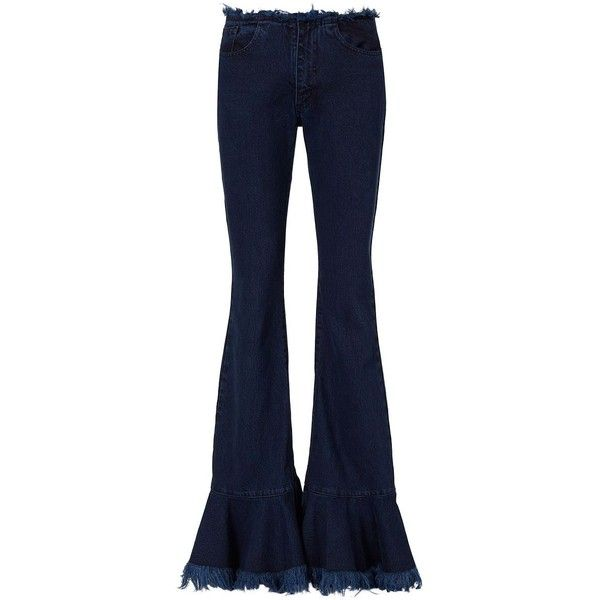 Purchase For Sale Buy Cheap For Sale Marques'almeida fringed flared jeans New Styles Cheap Price Free Shipping Cheap 4paVL3