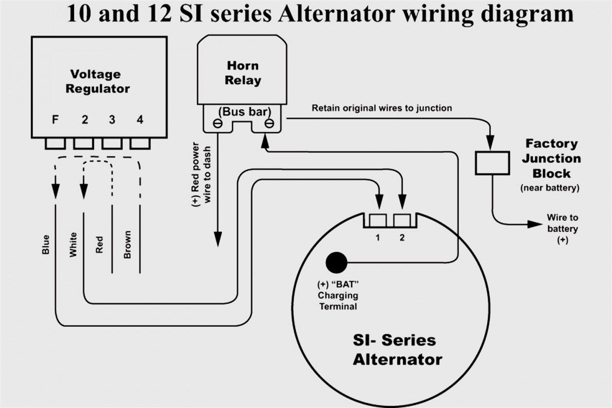 Picture Of Ford Alternator Wiring Diagram Internal Regulator Ford Alternator Wiring 5 Wire