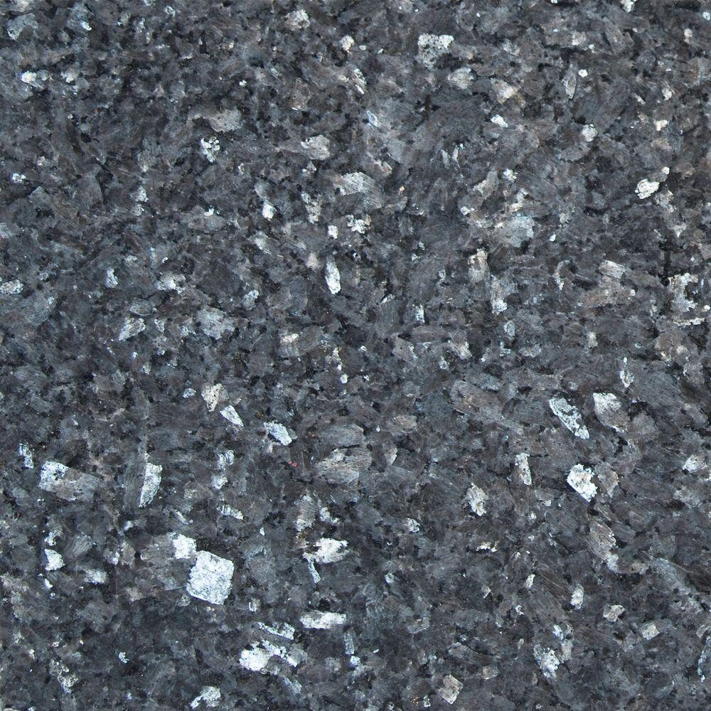 Msi Blue Pearl 12 In X 12 In Polished Granite Wall Tile 10 Sq Ft Case Tbp1212 The Home Depot Granite Wall Tiles Granite Tile Wall Tiles