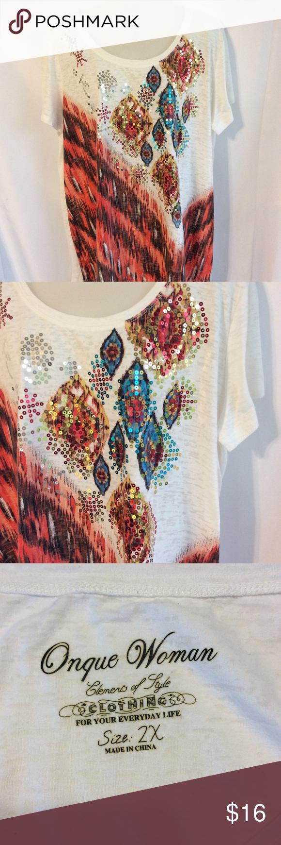 🧿Onque Woman Top   Clothes design