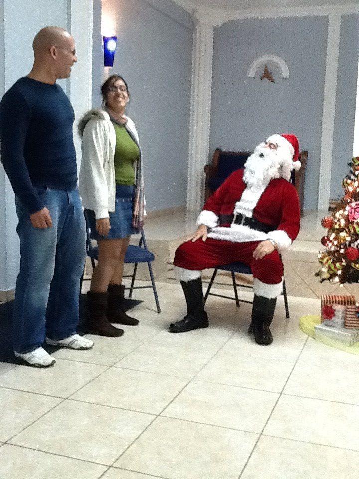 En Cordova (PR) hicimos que Santa, se convirtiera al Señor.