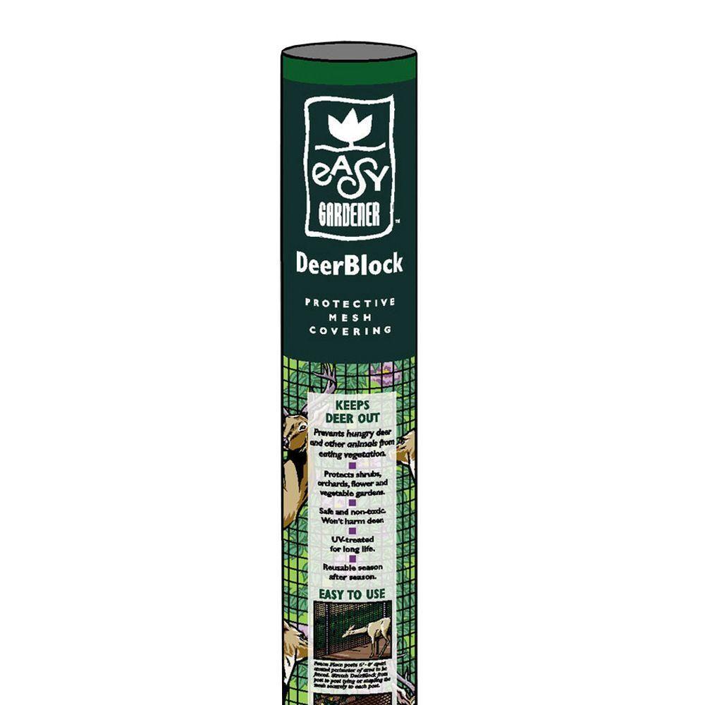 7x100 Black Dear Netting For 20 Square Foot Gardening