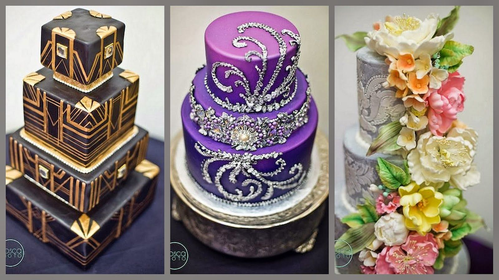 Purple cake with crystals cakes cookies and all other treats