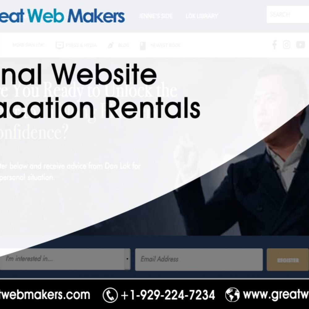 A Vacation Rental Business Is One Of The Most Lucrative Businesses These Days But You Need Website Designing For Vacation Rentals Business T In 2020 Web Design
