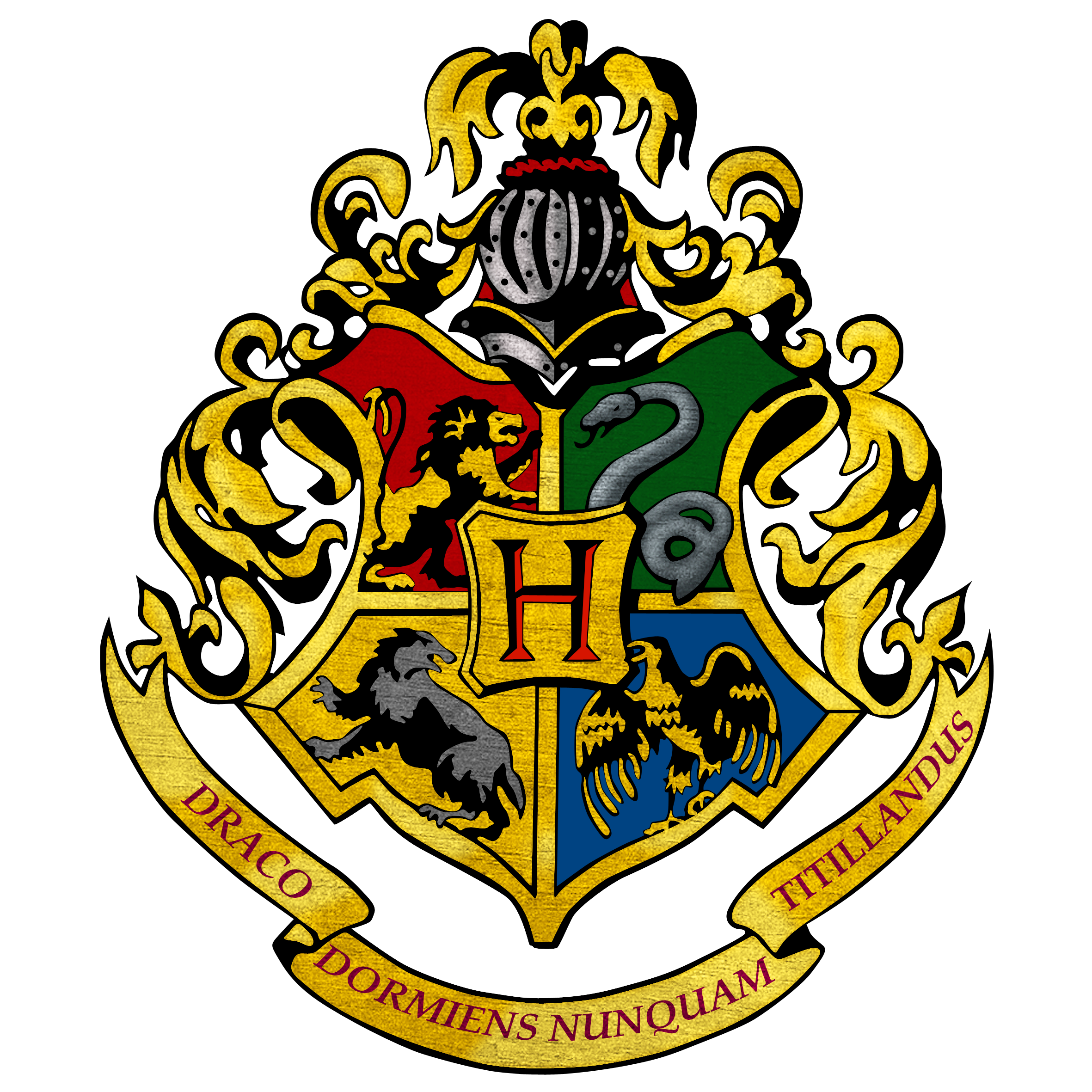 hogwarts emblem printable - Google Search | harry potter party ...