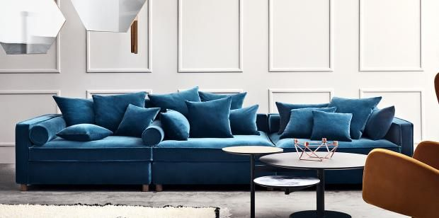 das xxl sofa oder big sofa big sofas interiors and living rooms