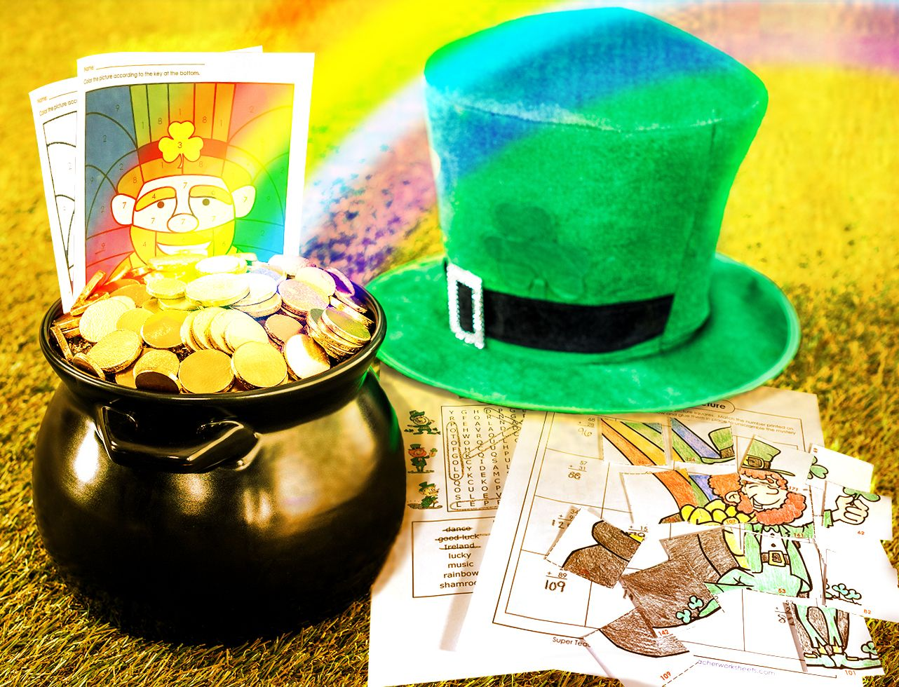 Check Out The Superteacherworksheets Stpatricksday Page