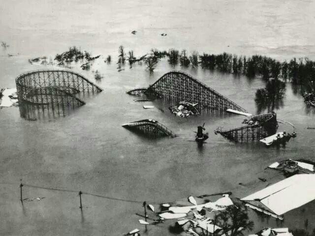 Fountain Ferry Park Louisville Ky 1937 Flood Louisville Kentucky Louisville Louisville Ky