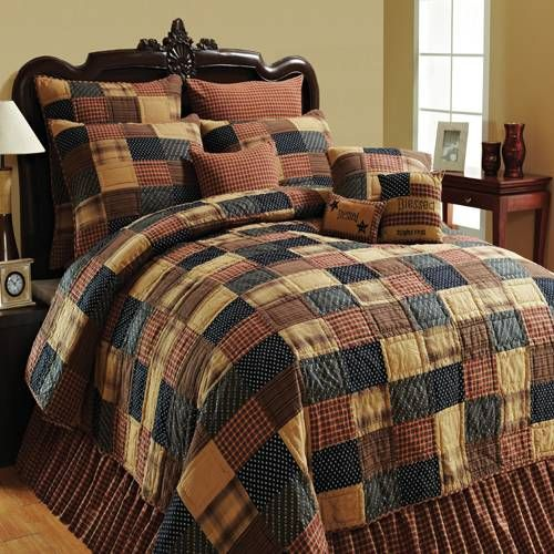 Lasting Impressions Patriotic Patch Bedding By Lasting Impressions