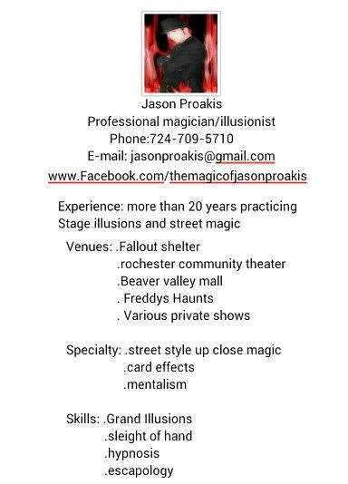 Updated resume Magic Pinterest - updated resume