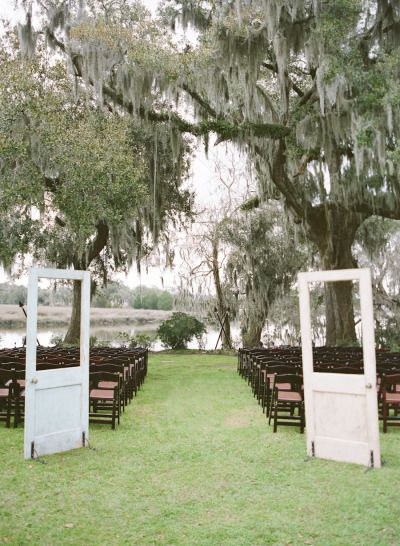 Southern Outdoor Plantation Wedding Http Www Stylemepretty 2017