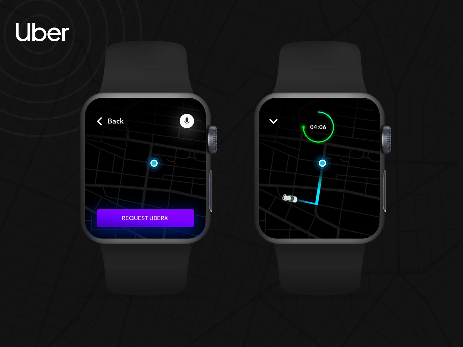 Uber Apple Watch
