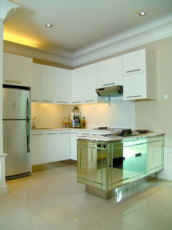 small aprtment kitchen | Fancy Kitchen Design For Small Apartment
