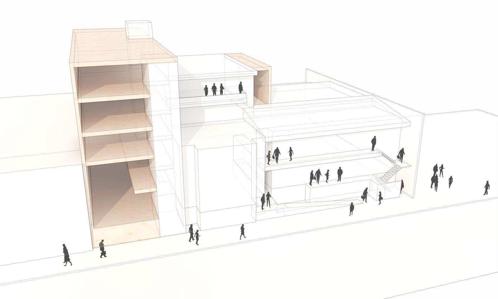 Urban Infill Schematic Design | BUILD Blog | Urban infill ...