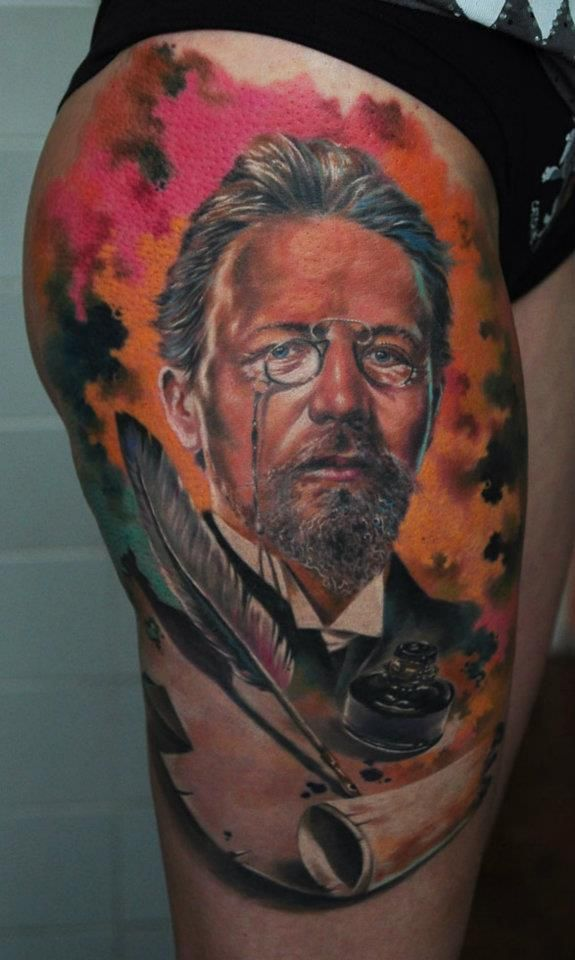 Den yakovlev the best realistic for Gifts for tattoo artist