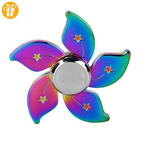 SICAS TM Hand Spinner Stress Relief Toy Colourful Aluminum Alloy