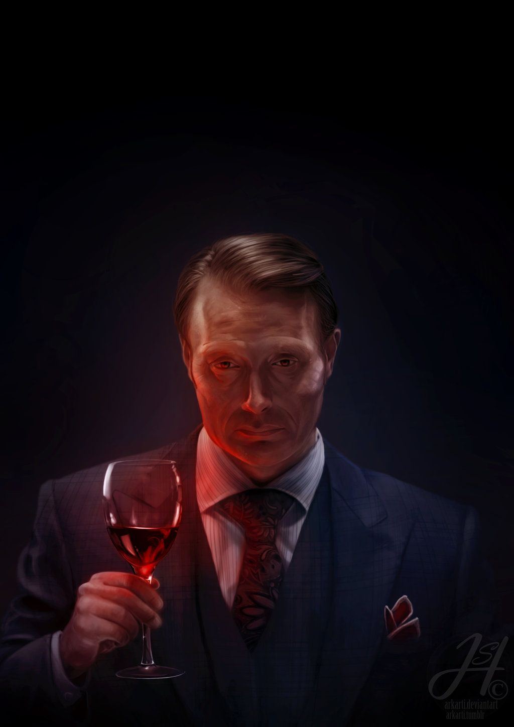 Red Wine Hannibal Lecter Hannibal Series Hannibal Episodes