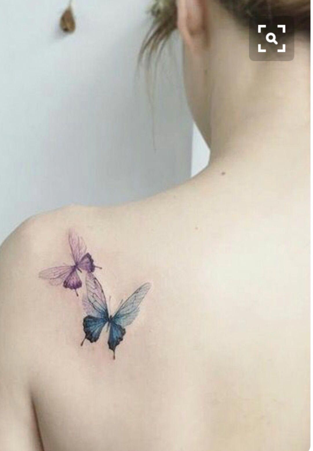 Tattoosonback Butterfly Tattoo Tattoos For Women Friendship Tattoos