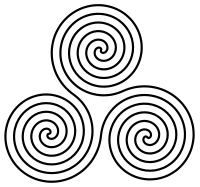 Triple Spiral Celtic Symbols Buddhist Symbols Sister Symbols