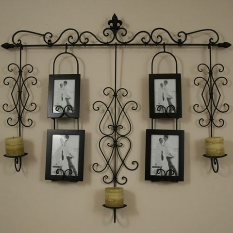 Wrought Iron Wall Designs image of vintage wrought iron wall decor Wrought Iron Wall Hanging So Santa Barbara Tuscan Just My Style
