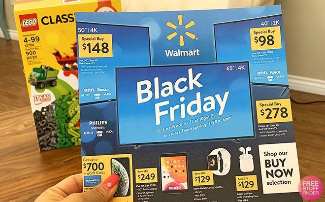 Walmart Black Friday Ad Scan Posted Deals Start November 4th In 2020 Walmart Black Friday Ad Black Friday Ads Black Friday