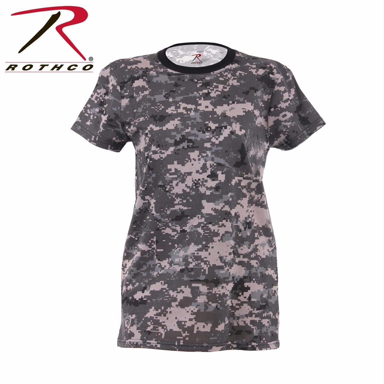 Rothco Women s Long Length Camo T-Shirt  e099b1d974