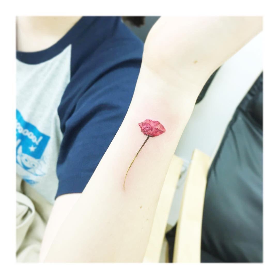 Flower tattooistbanul tattoo tattooing design drawing