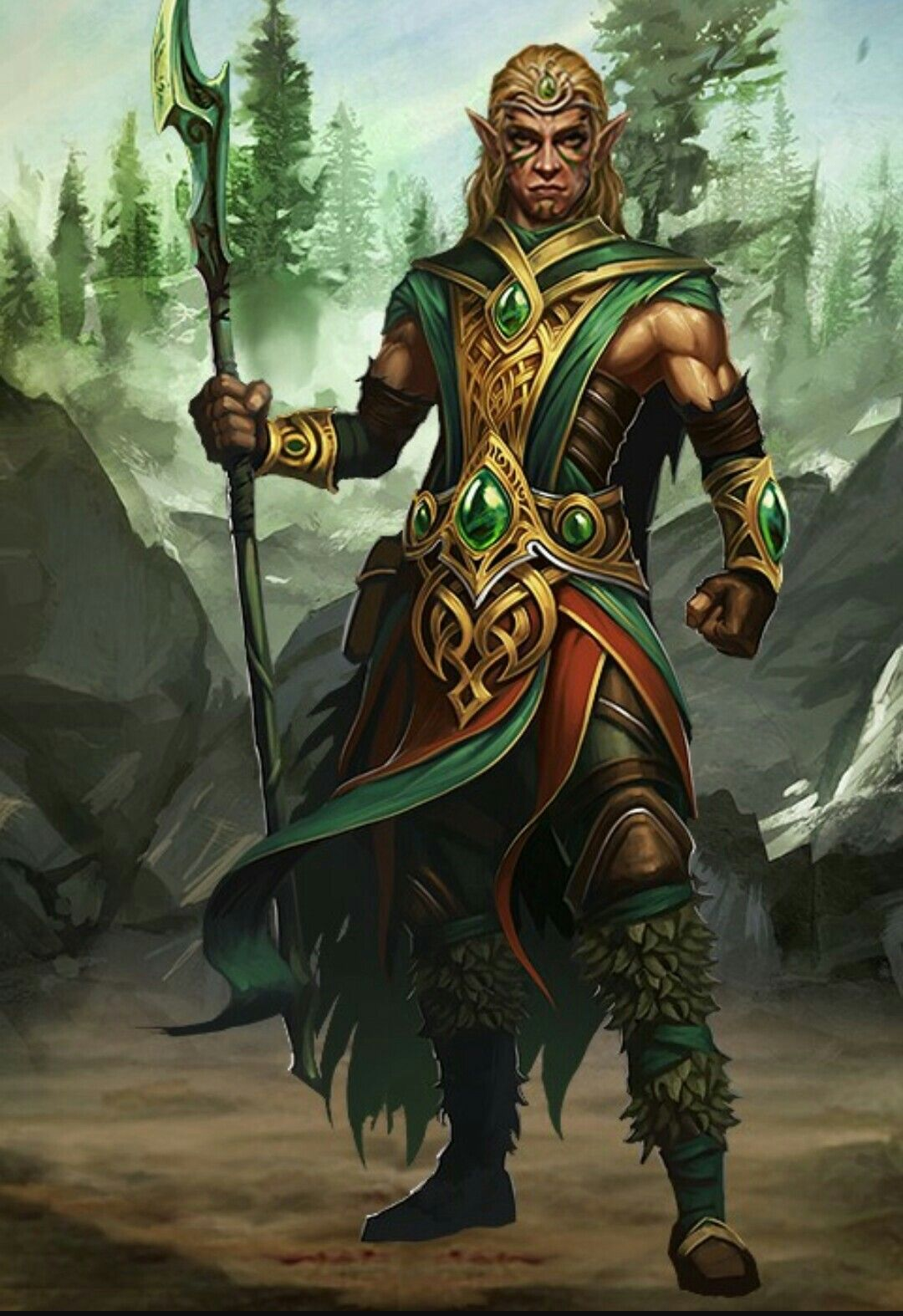 Male Druid Elf