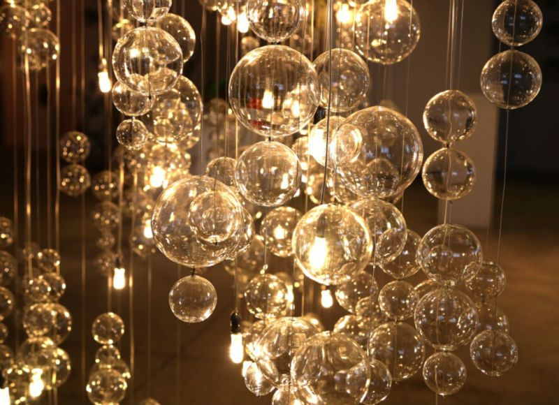 Ceiling Covered Crystal Pendant Lighting Chandelier Pendant Lights Rustic Chandelier