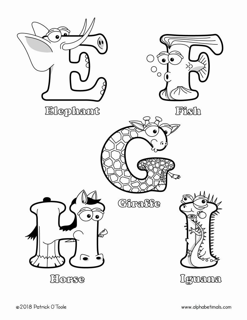 Coloring Book Alphabet J Fresh Collection Letter Alphabet Animal Coloring Pages Lettering Alphabet Animal Alphabet Letters Alphabet Coloring