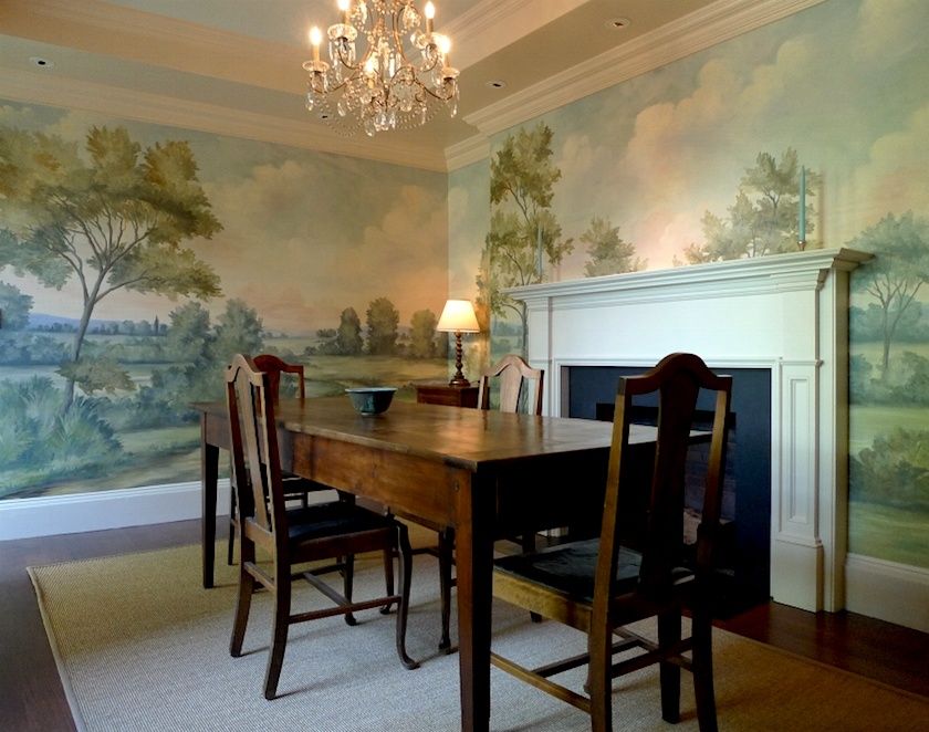 Little Known Exquisite Affordable Wallpaper Murals Art Dining Room Murals Dining Room Wallpaper Dining Room Contemporary