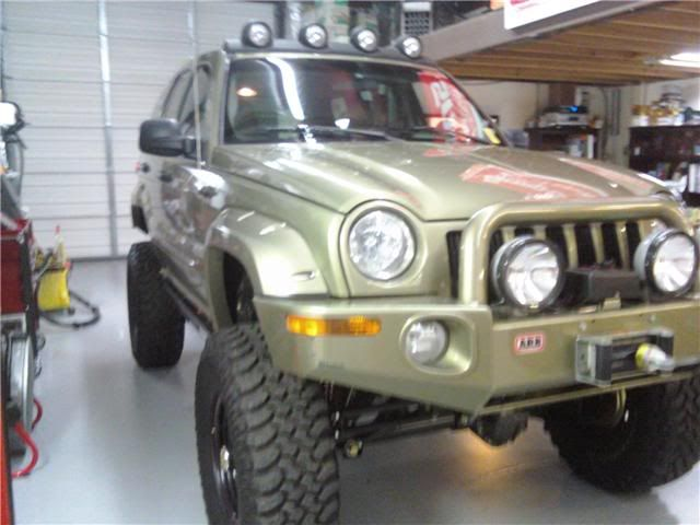 Lets See All Your Lifted Liberty Kj S Page 5 Jeepforum Com Jeep Bumpers Jeep Liberty 2006 Jeep Liberty