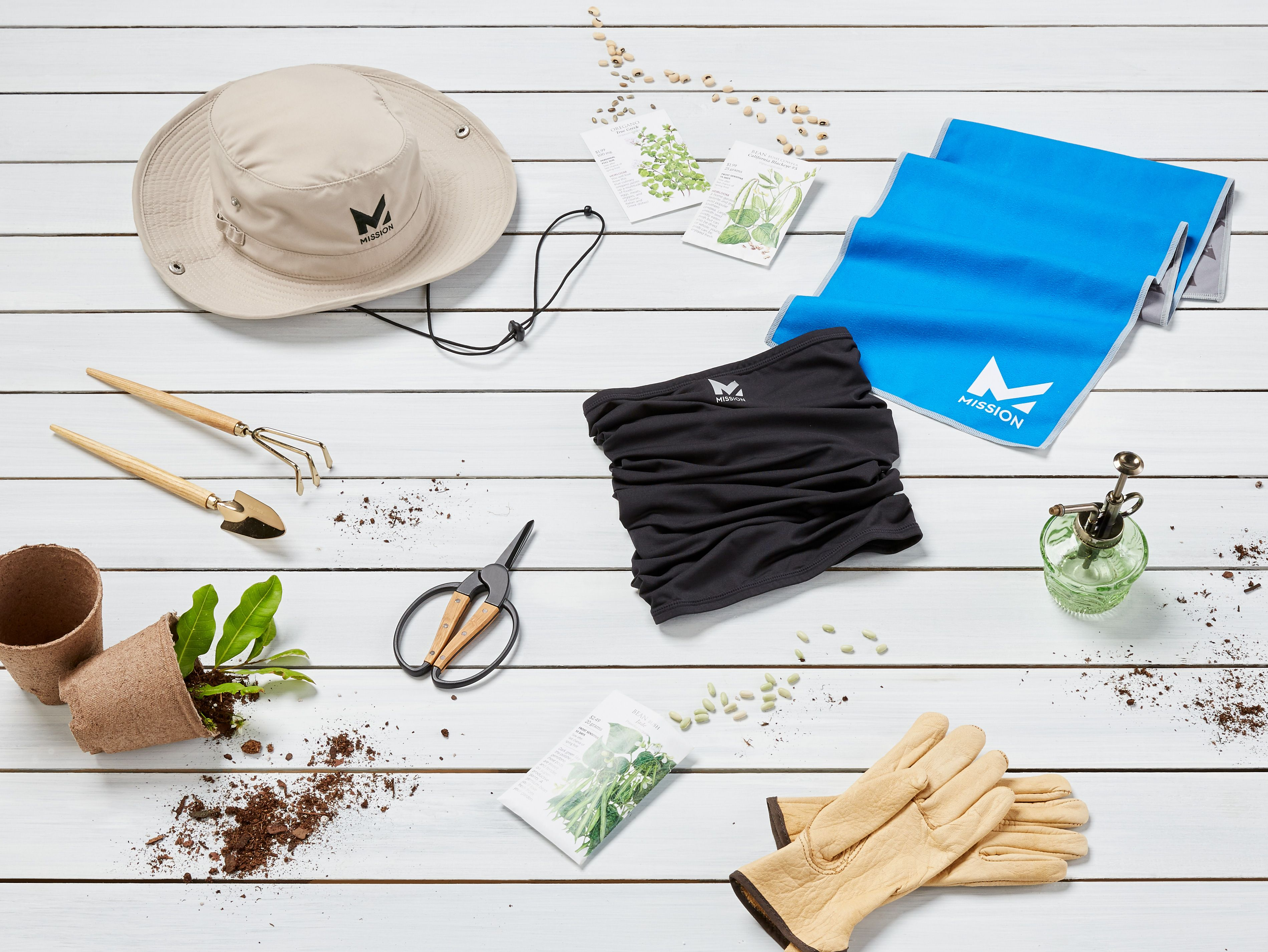 Grab Our Gardening Accessories To Stay Cool In The Heat Mission