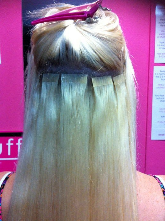 Hot Stuff Beauty Blog Hair Extension Application Methods Tape