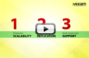 Veeam Backup & Replication for VMware and Hyper-V #1 VM